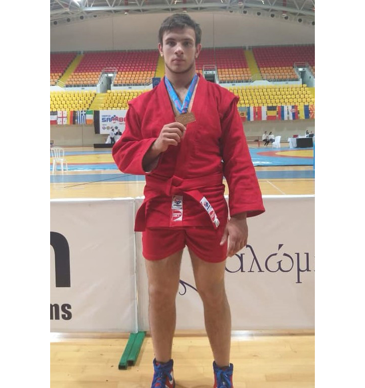 Богдан Пушенко – бронзовий призер чемпіонату Європи з самбо