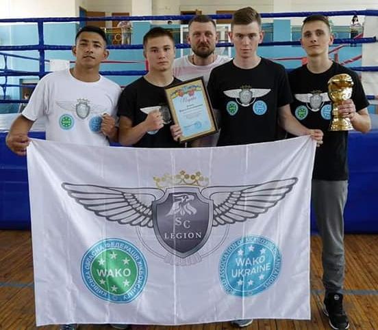 Повний комплект нагород з кубка Донбасу