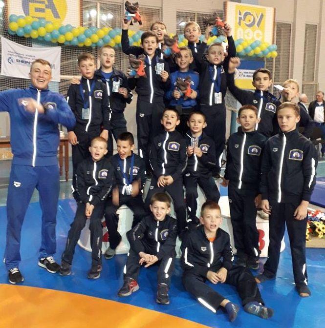 (Крюківщина) Десять медалей із Всеукраїнського турніру