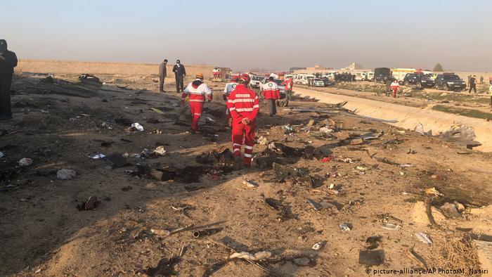 Boeing 737  «Міжнародних авіаліній України» розбився в Ірані