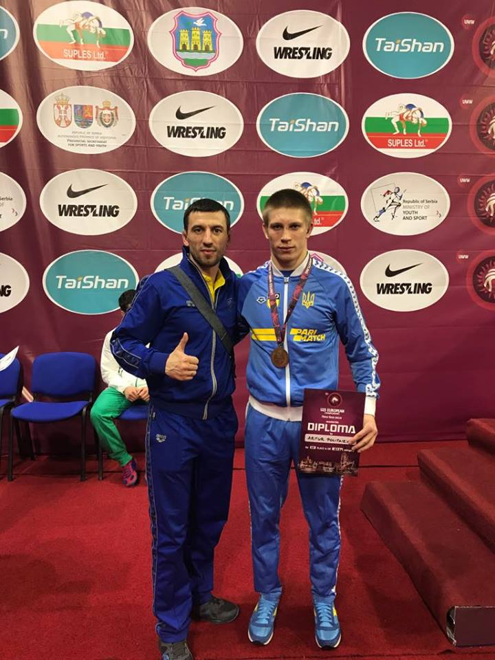 Крюківщинець Артур Політаєв – бронзовий призер чемпіонату Європи