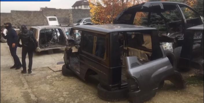 Затримано викрадачів автомобілів