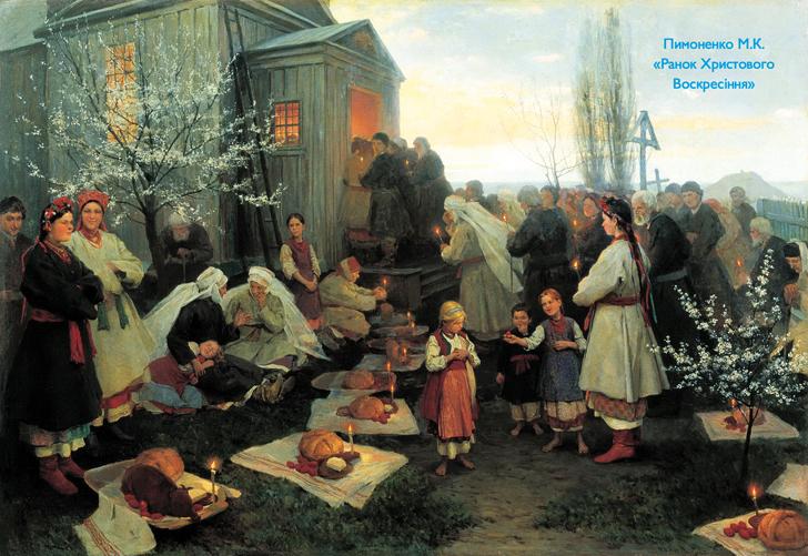 Як 200 років тому Великдень святкували